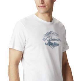 Columbia High Dune Graphic Tee Men, white outsider